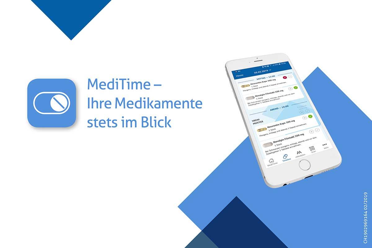MediTime – die richtige Medikation zur richtigen Zeit