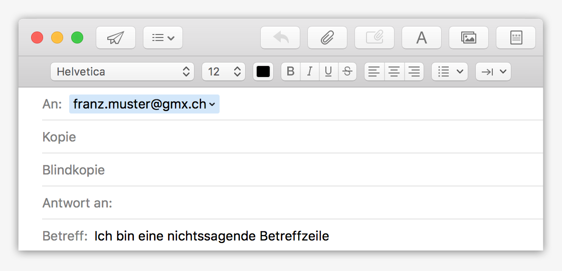 E-Mail-Verkehr: Eine aussagekräftige Betreffzeile fällt auf und findet Anerkennung!