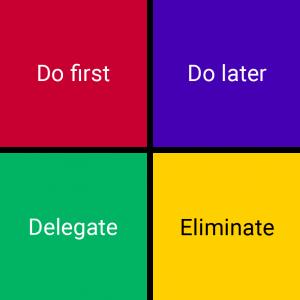 Eisenhower Prinzip