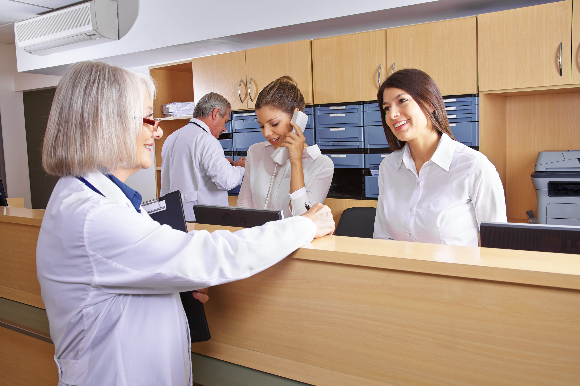 Ein erfolgreiches Team in der Arztpraxis