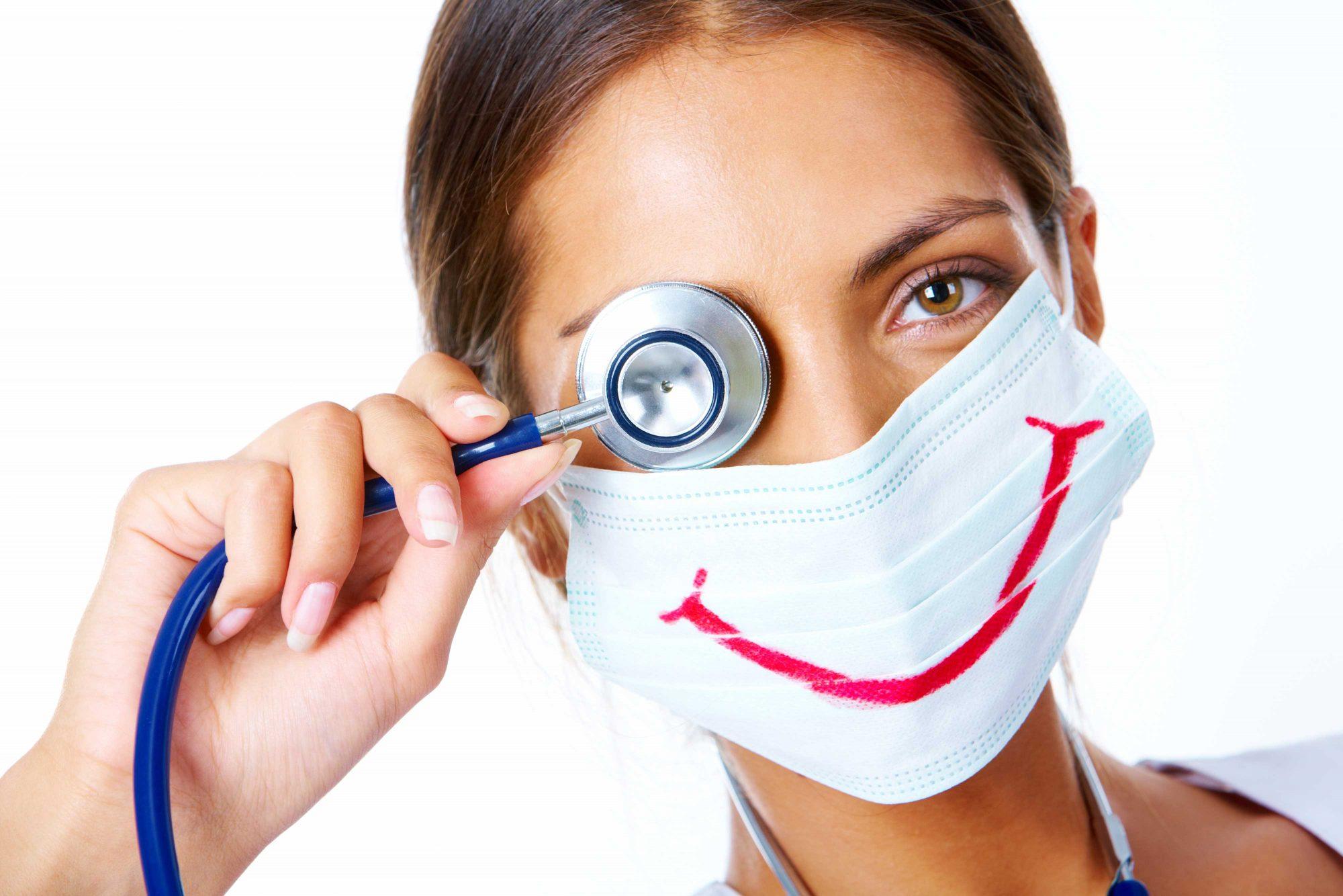 Humor in einer Arztpraxis – darf das sein?