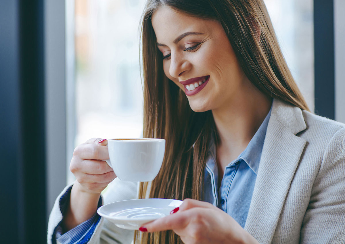 kaffee im wartezimmer