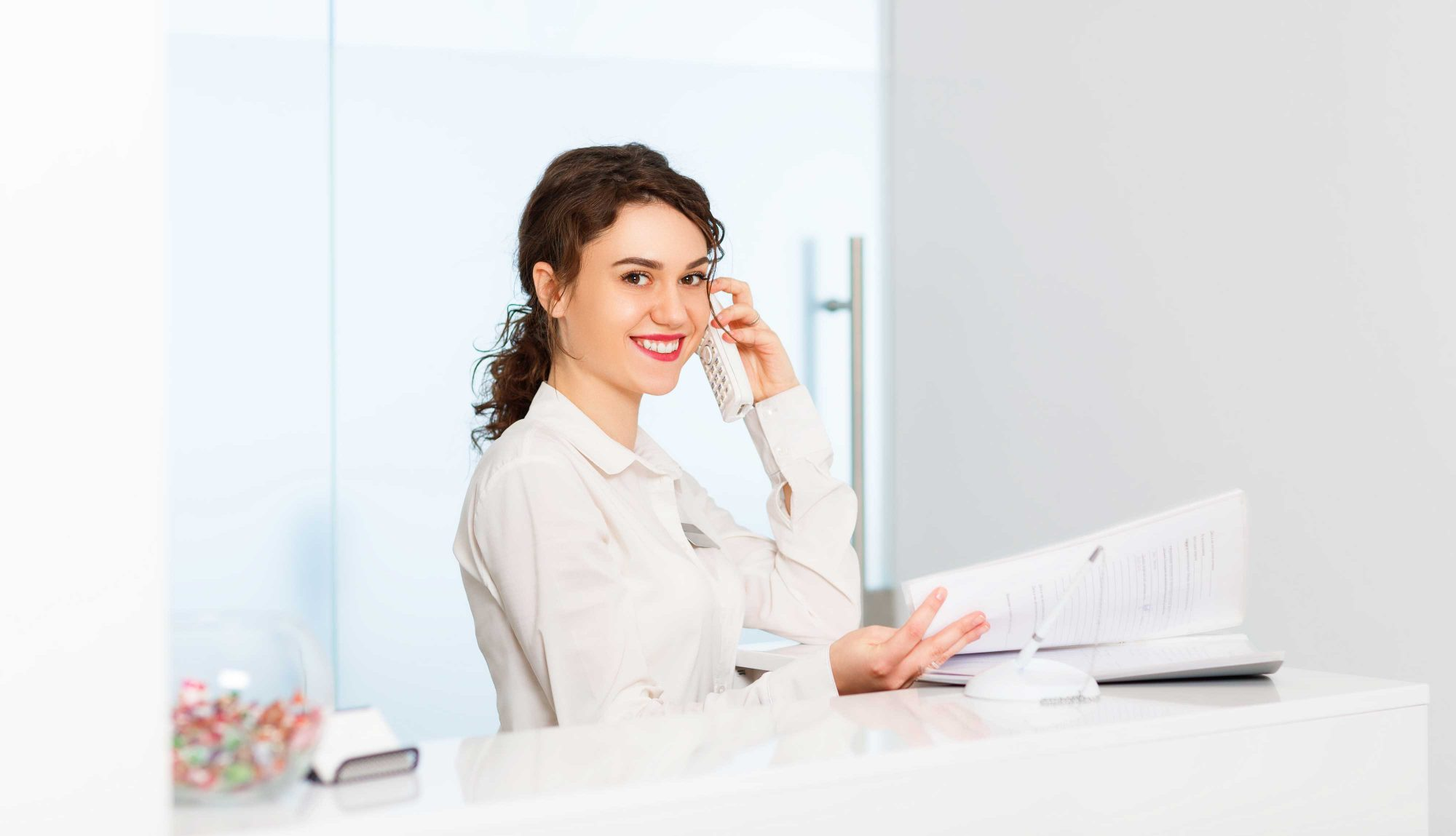 Eine MPA wünscht viel Erfolg in der Arbeitswelt