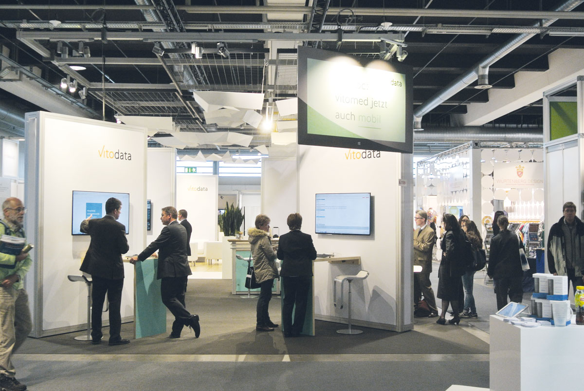 IFAS 2018: Vitodata präsentiert die neue vitomed Krankengeschichte